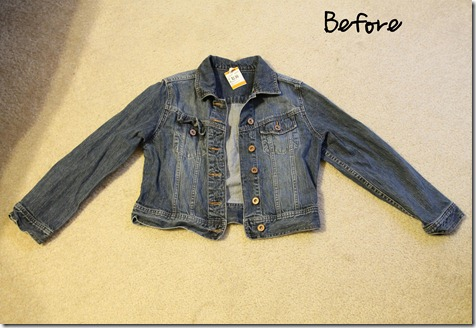 How To make A Denim Vest- So Easy! - ONE little MOMMA